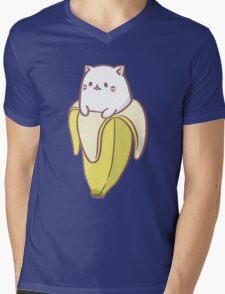 Bananya Mens V-Neck T-Shirt