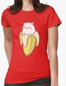 Bananya Womens Fitted T-Shirt