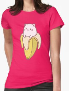 Bananya Womens Fitted T-Shirt