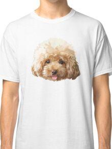 Flower Poodle Dog Classic T-Shirt