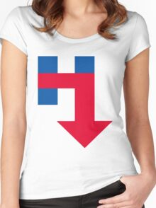 Anti Hillary Arrow Women's Fitted Scoop T-Shirt