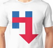 Anti Hillary Arrow Unisex T-Shirt