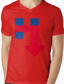 Anti Hillary Arrow Mens V-Neck T-Shirt