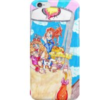 the adventurer sisters iPhone Case/Skin