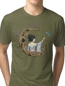 Among the Blossoms. Tri-blend T-Shirt