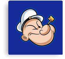 Popeye the Sailor Man Canvas Print