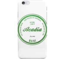 Acadia, Maine National Park iPhone Case/Skin