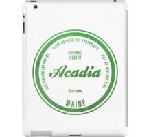Acadia, Maine National Park iPad Case/Skin