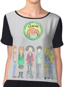 Daria and Friends Chiffon Top