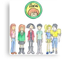Daria and Friends Canvas Print