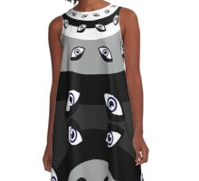 Mandala Homunculus A-Line Dress