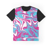 Bright Marbling Graphic T-Shirt