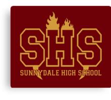 Sunnydale Highschool Canvas Print