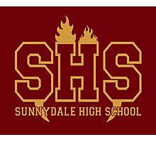 Sunnydale Highschool Photographic Print