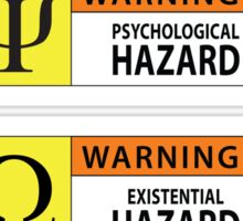 Hazard Warning III Sticker