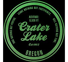 Crater Lake National Park, Oregon Photographic Print