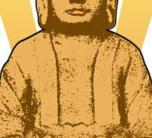 Buddha sun gold Sticker