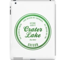 Crater Lake National Park, Oregon iPad Case/Skin