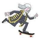 A Lord on a skateboard by Joel Tarling
