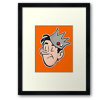 Jug Head Framed Print