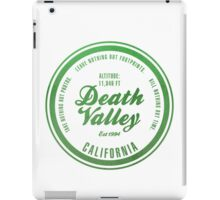 Death Valley National Park, California iPad Case/Skin