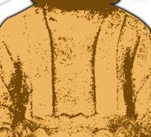Buddha gold Sticker