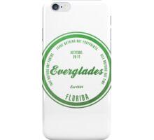 Everglades National Park, Florida iPhone Case/Skin