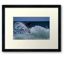 And Now....A Word From My Sponsors Framed Print