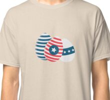 Easter eggs with stars   Classic T-Shirt