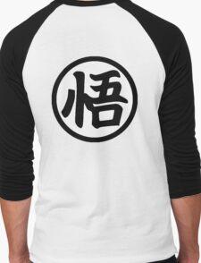 Son Goku Logo Men's Baseball ¾ T-Shirt