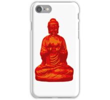 Buddha orange iPhone Case/Skin