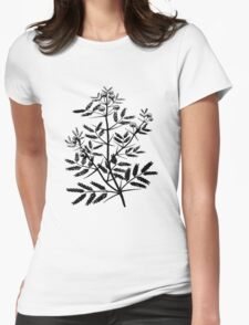 Acacia (wattle) Womens Fitted T-Shirt