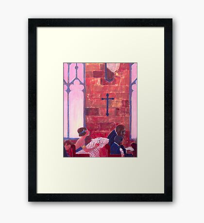 Thy Neighbor Framed Print