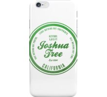 Joshua Tree National Park, California iPhone Case/Skin