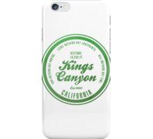 Kings Canyon National Park, California iPhone Case/Skin