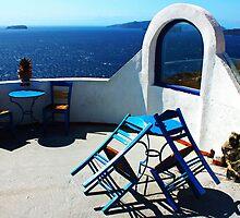 Santorini Views by George Grimekis