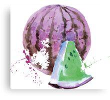 Strange Melon Canvas Print