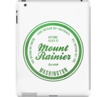 Mount Rainier National Park, Washington iPad Case/Skin
