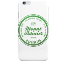 Mount Rainier National Park, Washington iPhone Case/Skin