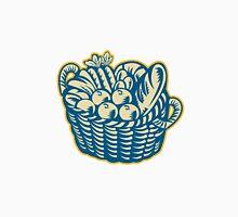 Crop Harvest Basket Retro Unisex T-Shirt