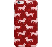 Christmas Dachshunds iPhone Case/Skin