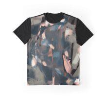 Abstract Cube Fish Graphic T-Shirt