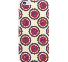 Colorful doodle seamless pattern. Abstract flower background.  iPhone Case/Skin