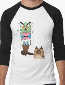 Kitty-Scream Men's Baseball ¾ T-Shirt