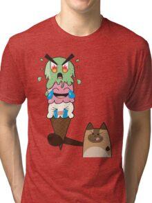Kitty-Scream Tri-blend T-Shirt