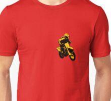 Enduro gelb schwarz Unisex T-Shirt