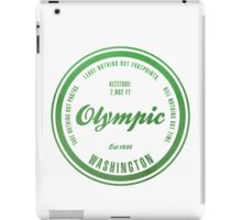 Olympic National Park, Washington iPad Case/Skin