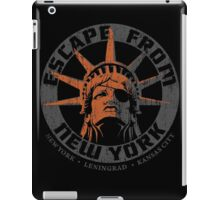 Escape from New York Snake Plissken iPad Case/Skin