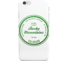 Rocky Mountains National Park, Colorado iPhone Case/Skin