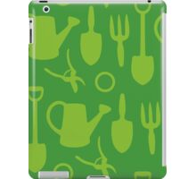 Green Garden Tools iPad Case/Skin